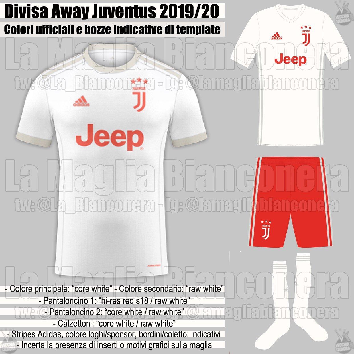 Juventus 19-20 Away Kit Leaked - Confirmed - Footy Headlines