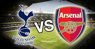 Link Live Streaming Tottenham Hotspur vs Arsenal Sabtu 10 Februari 2018