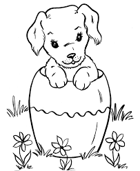 Adorable dog coloring Sheet Download