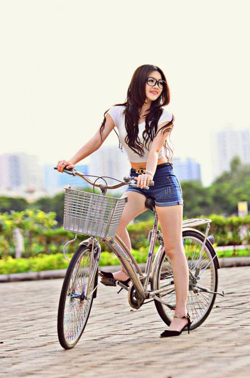 Tăng chiều cao với những bài tập đạp xe hàng ngày