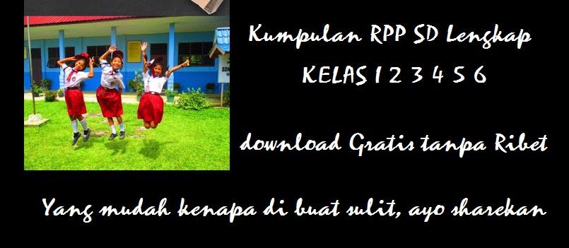 RPP Kelas 5 SD / MI Kurikulum 2013 Tahun Pelajaran 2021/2022