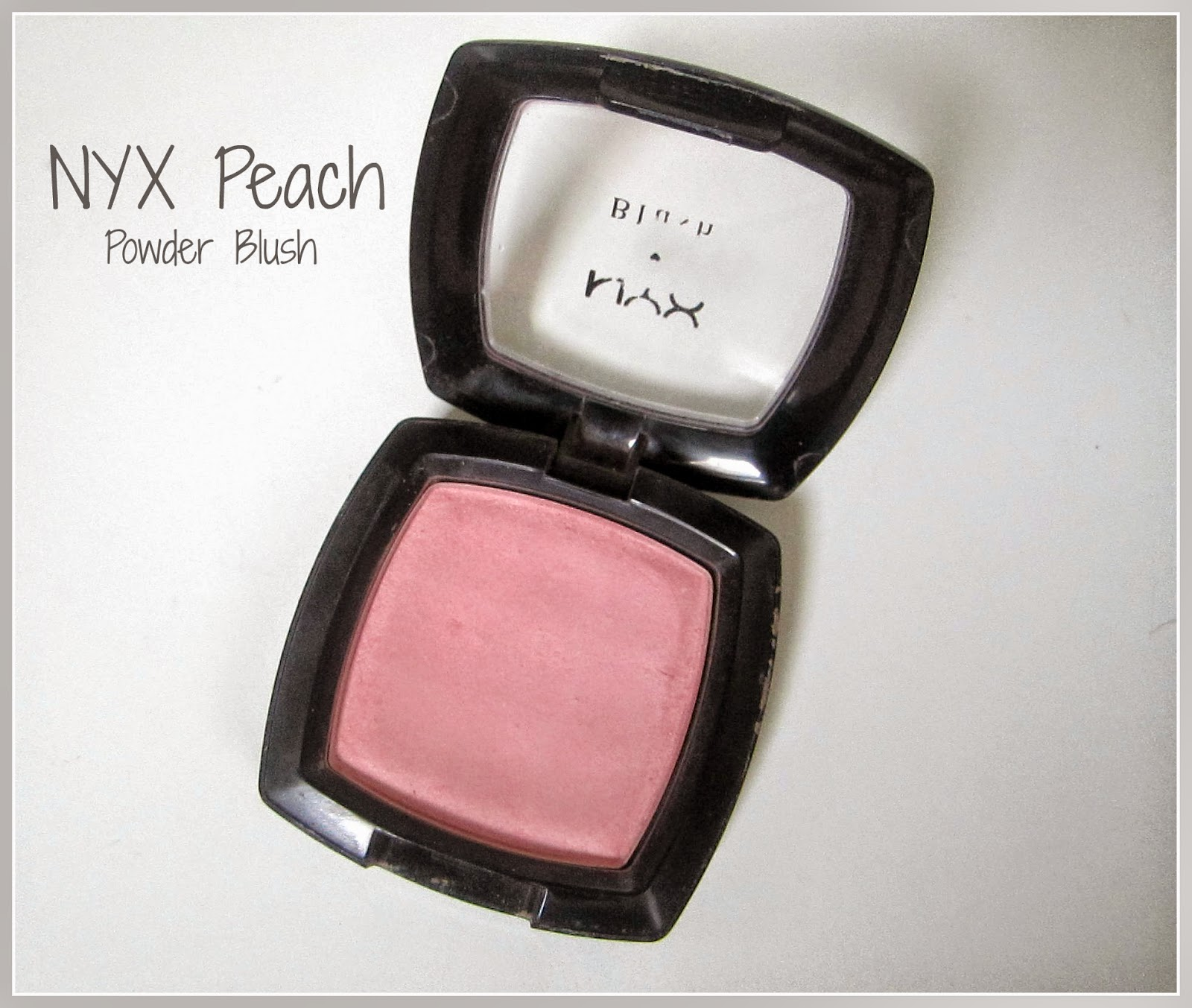 Review: NYX Powder Blush in 'Peach'