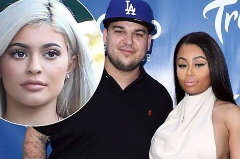 Rob Kardashian, Kylie and Blac Chyna