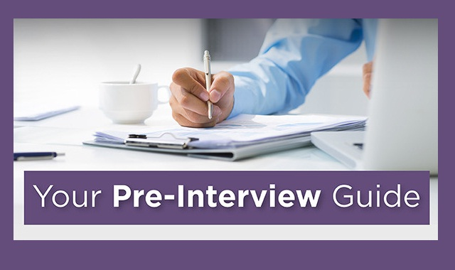 Image: Your Pre-Interview Guide #infographic
