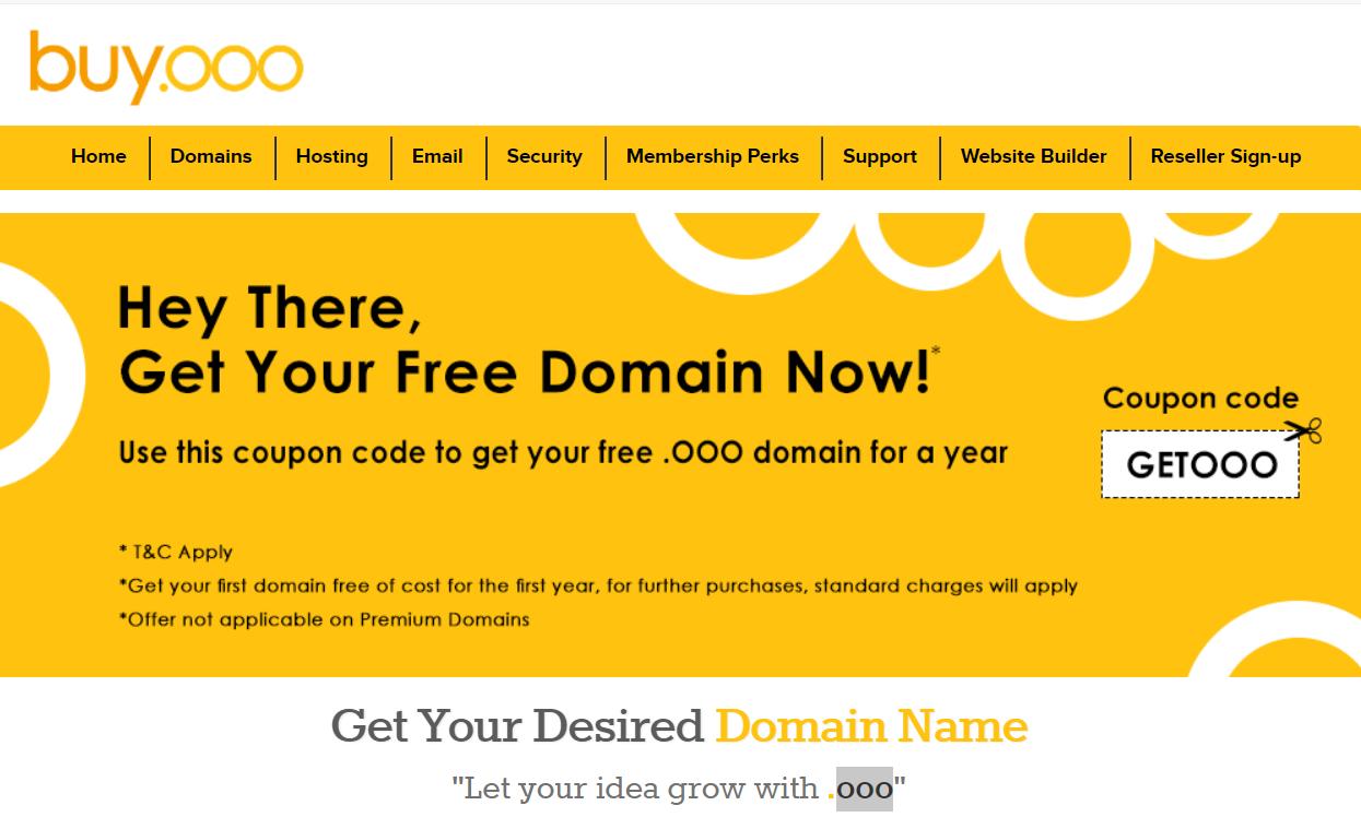 cara mendapatkan domain ooo gratis