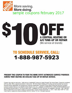 free Home Depot coupons for february 2017