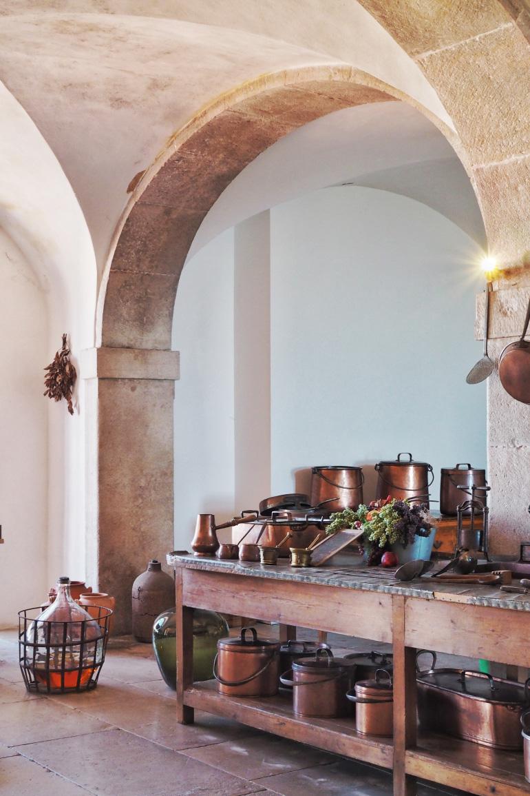 Cuisine du palais de Pena près de Lisbonne