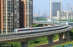 Beijing maglev line