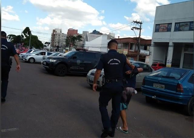 Homem com suspeita de coronavírus é preso tentando contaminar outras pessoas em Curitiba