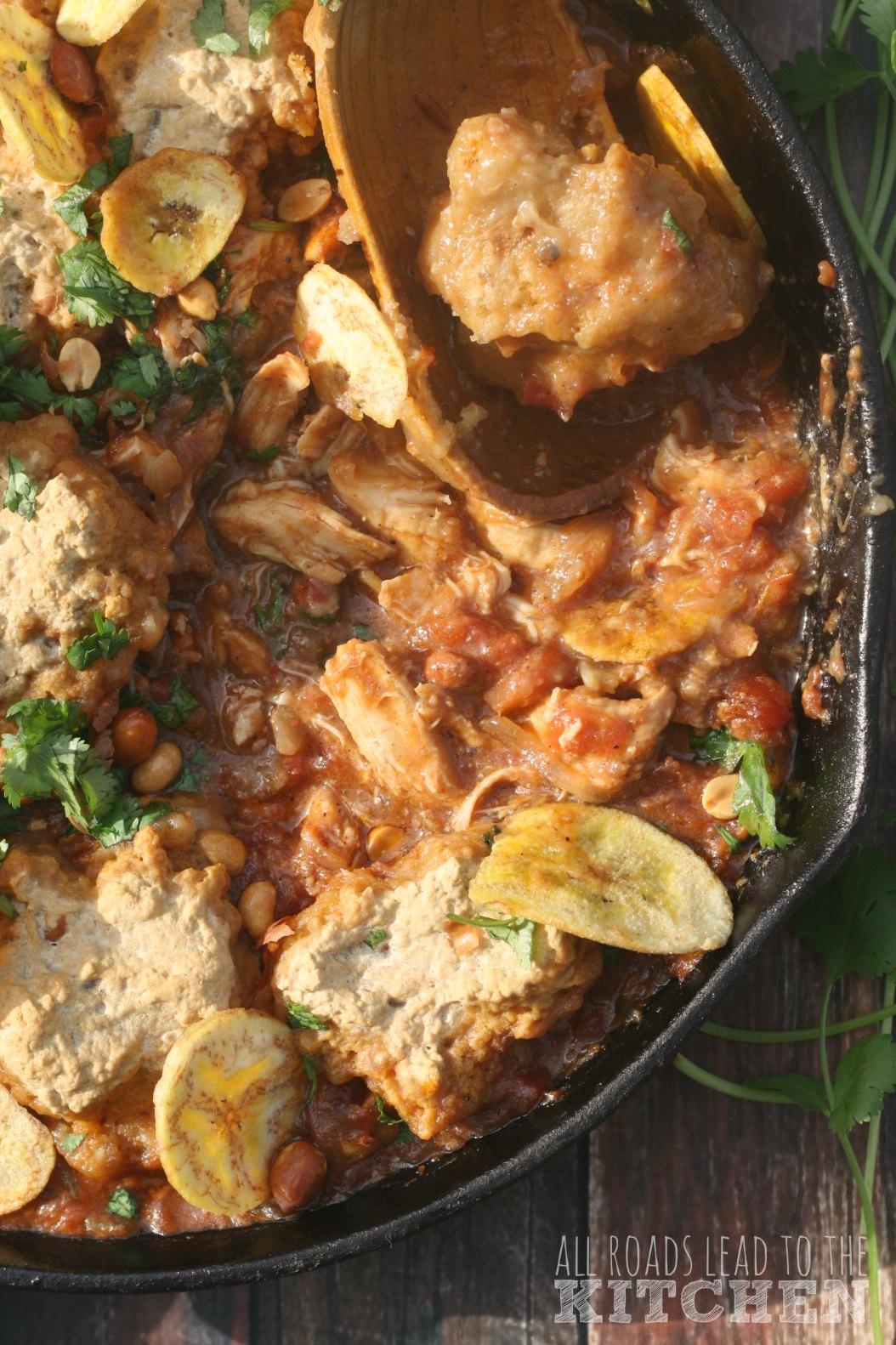Chicken, Plaintain and Peanut Stew