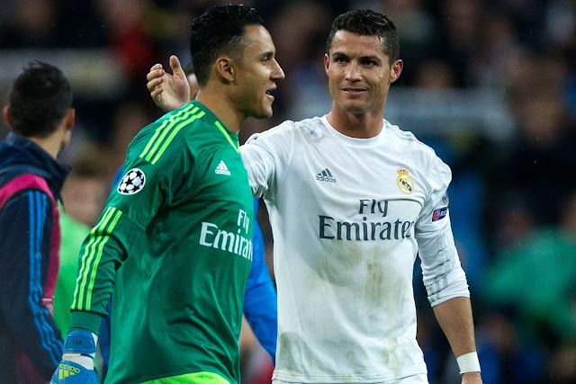 Navas dan Ronaldo