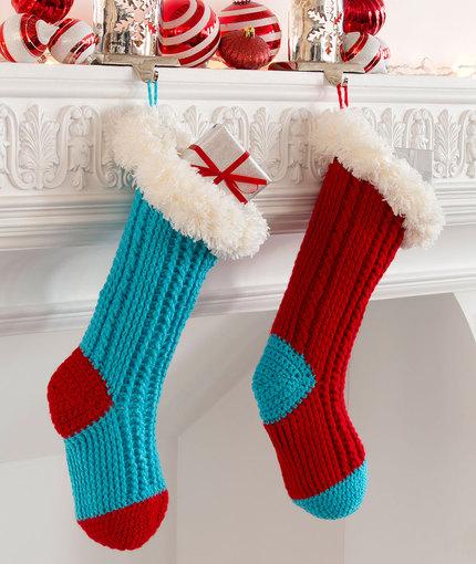Fiber Flux 12 Beautiful Crochet Stockings
