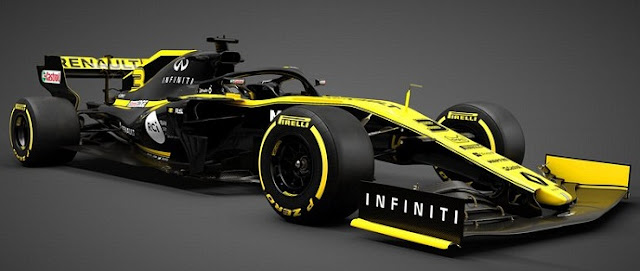 Renault Car for 2019 Formula 1 season.