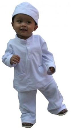 Baju Muslim Anak Berkarakter untuk balita