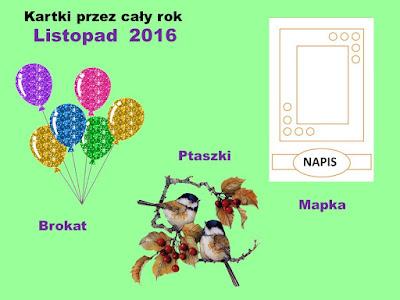 Kartki - Listopad 2016
