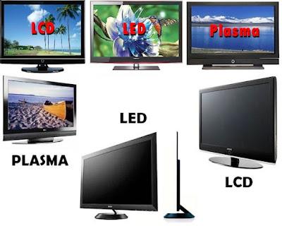 perbedaan TV LCD LED Plasma