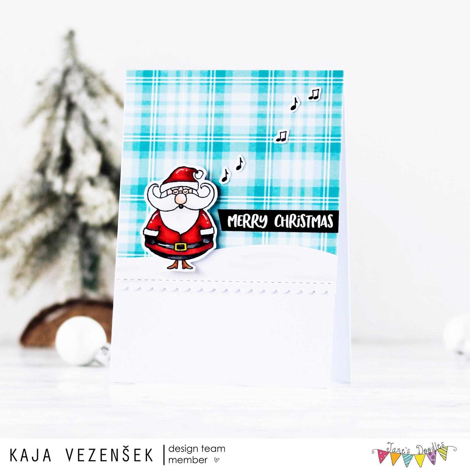 Santa | Jane's doodles