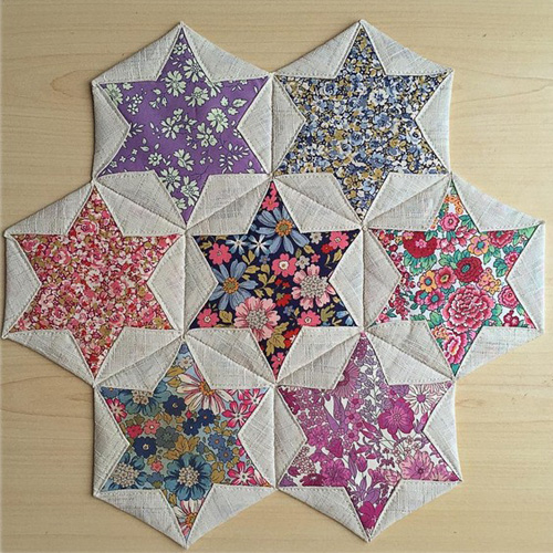 Folded Hexagon Stars - Tutorial
