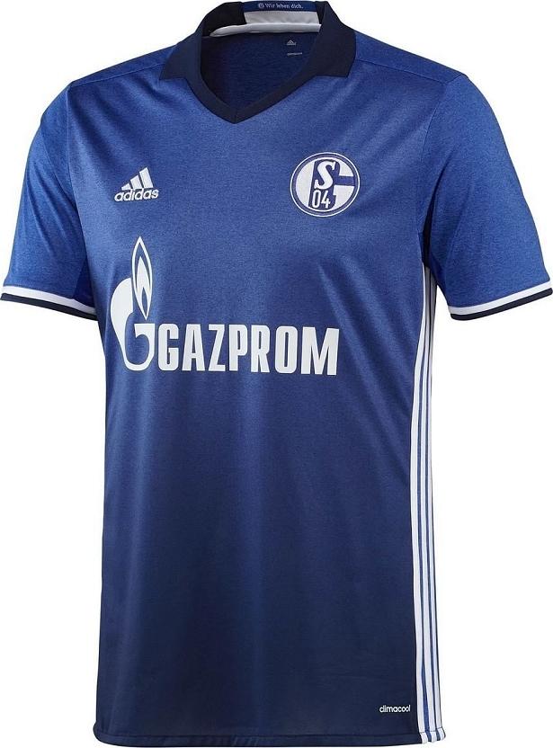 Adidas apresenta novas camisas do Schalke 04 - Show de Camisas a9e439eafd50d