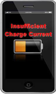 Insufficient Charge Current pada Baterai ponsel