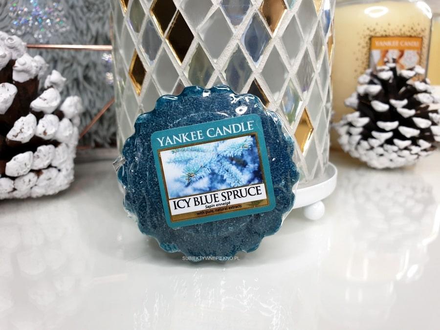 YANKEE CANDLE ICY BLUE SPRUCE  | Zimowa kolekcja Q4 2018