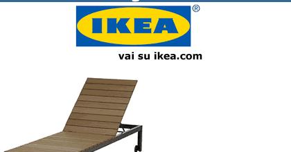 Lettini Da Spiaggia Pieghevoli Ikea.Risparmiello Sdraio E Lettini Da Giardino Ikea