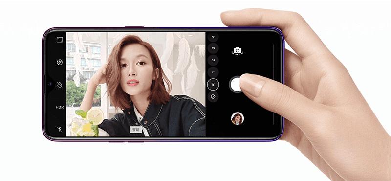 AI selfie cam