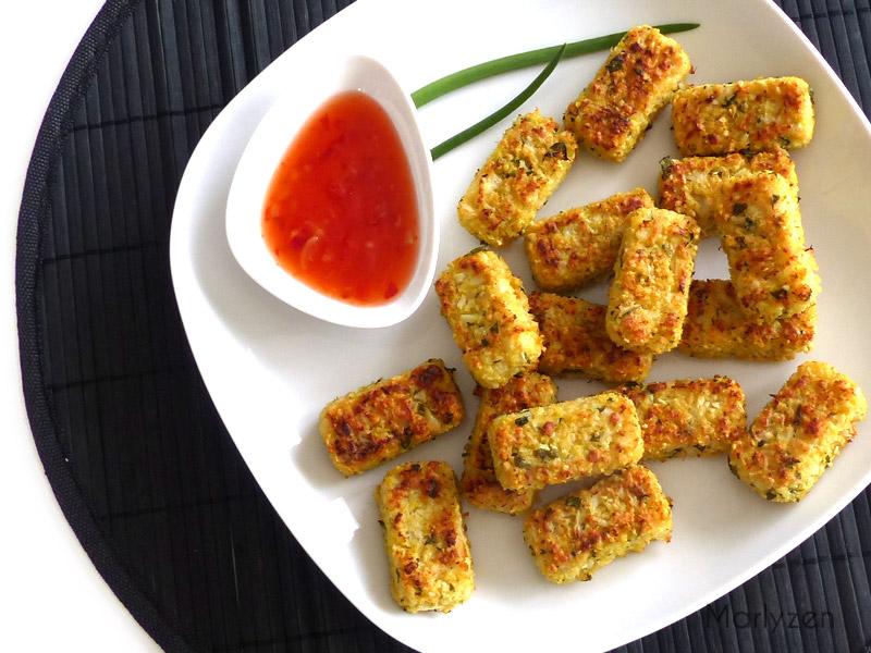 Croquettes de chou-fleur au parmesan