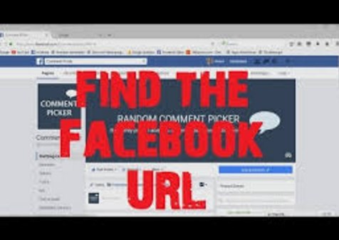 How to find facebook url