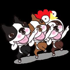 Animated Boston Terrier 2