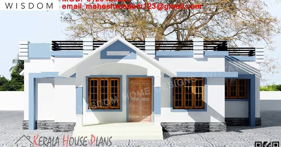 1008sqft Small Budget Kerala House Design And Elevation