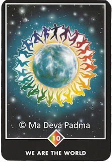 Osho Zen Tarot Ten of Rainbows Ma Deva Padma