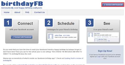 Cara Mudah Memberi Ucapan Selamat Ulang Tahun Otomatis di FB