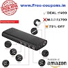 Amazon – Buy Coolnut Power Bank 10000mAh - (Black) at Rs.499 only