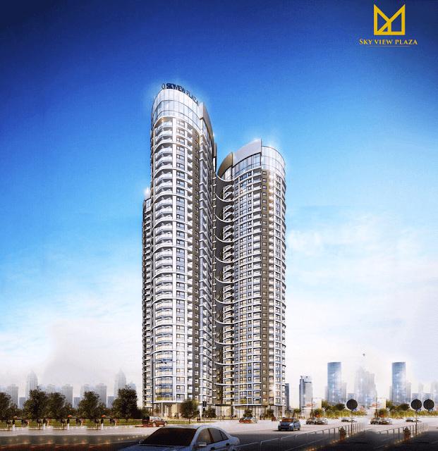 Phối cảnh tổng thể dự án Sky View Plaza