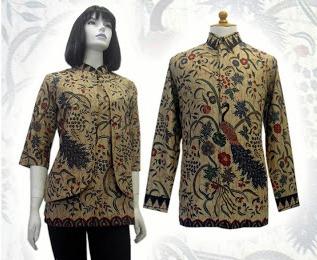 Model Baju Batik Kerja Untuk Wanita Batik Indonesia