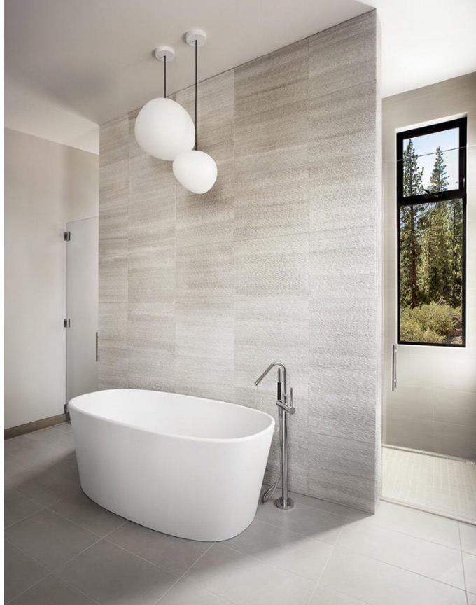 My Favorite Areas For Tiled Walls Are Bathrooms And Fireplace Feature You Can Also Purchase Wallpaper That Looks Like High End Tile