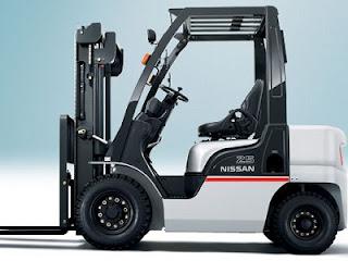 Xe nang hang Nissan Forklift