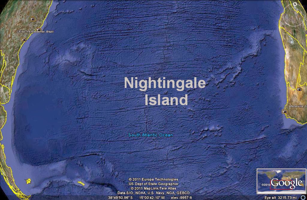 Nightingale Island South Atlantic Ocean