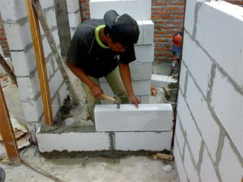 Dunia Konstruksi Mengenal Beton Ringan Aerasi Pengganti