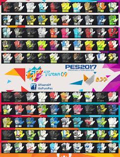 PES 2017 GlovePack Vol. 5 by Tisera09
