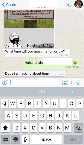 Begini Nih Cara membalas Pesan individu di WhatsApp 2