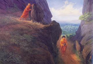 The greatest regret in Ananda's life was his brother, Devadatta.