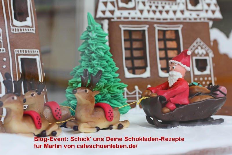 Blog-Event Schokolade fuer Martin(Einsendeschluss 25. Dezember 2011)