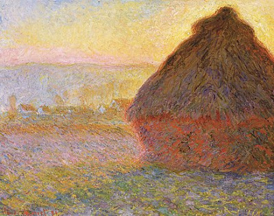 Claude Monet, Haystacks, (sunset), 1890–1891, Museum of Fine Arts, Boston
