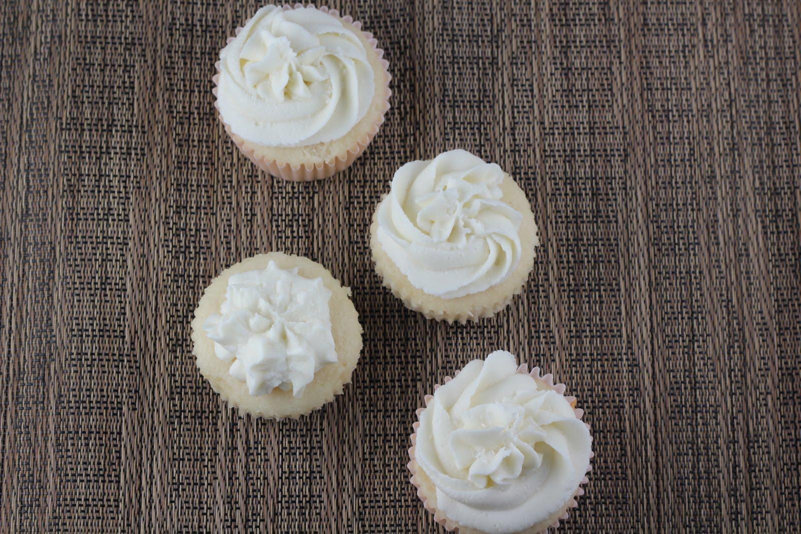 White Wedding Cake Cupcakes A Zesty Bite