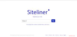 Siteliner broken link checker