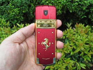 Hape Mewah Unik Vertu A8 Ferrari China Body Metal