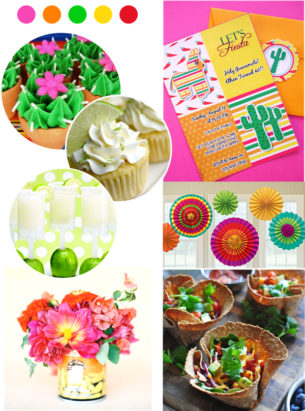 Last Minute Cinco de Mayo Party Ideas & Appetizers - via BirdsParty.com