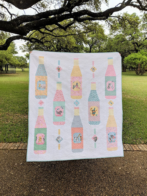 Soda Pop Shop Quilt by Heidi Staples of Fabric Mutt using Perfect Party by the Cottage Mama for Riley Blake Designs